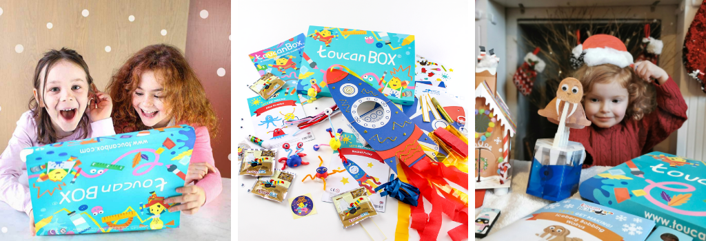 ToucanBox craft subscription for kids